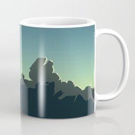 Cloudscape Blue and Green Coffee Mug