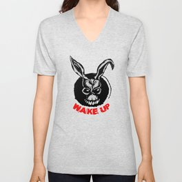 Wake Up - Donnie Darko Unisex V-Neck