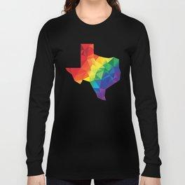 Geometric Pride Texas Long Sleeve T-shirt