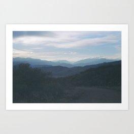 rabbit mountain (3) Art Print
