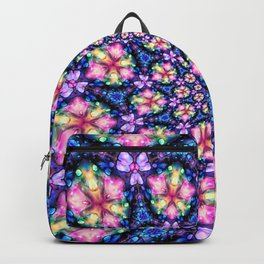 Inky Florals Backpack