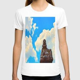 Happy Buddha on a Beautiful Day T-shirt