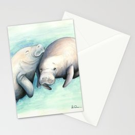 Manatee Love Stationery Cards