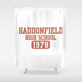 HADDONFIELD HIGH SCHOOL 1978 Shower Curtain