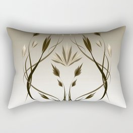 floral emblem 1 Rectangular Pillow