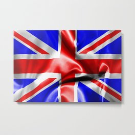 Great Britain Flag Metal Print