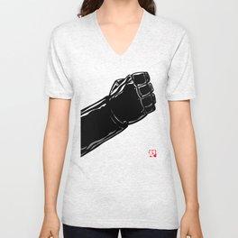 Hand of Doom Unisex V-Neck