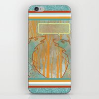 foxes iPhone & iPod Skins featuring Foxes by Ariel Wilson