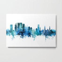 The Hague Netherlands Skyline Metal Print