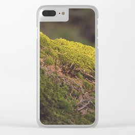 Nature's Velvet Clear iPhone Case