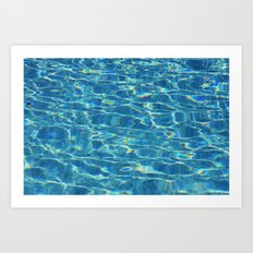 Water surface (1) Art Print
