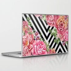 flowers geometric Laptop & iPad Skin