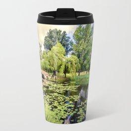 Lily Pond of England Travel Mug
