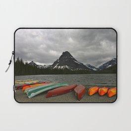 Two Medicine Lake With Sinopah Mountain Laptop Sleeve