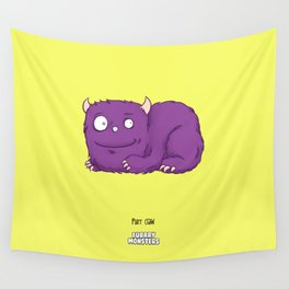 Purr claw Wall Tapestry