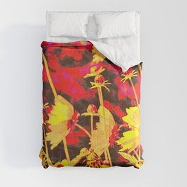 Blowing In The Wind Floral Comforters
