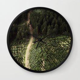 The Path & The Goal Wall Clock