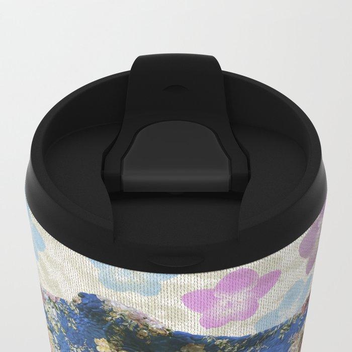 Dinosaur Metal Travel Mug