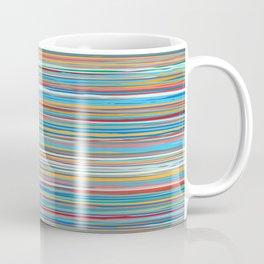 Colorful lines summer pattern Coffee Mug