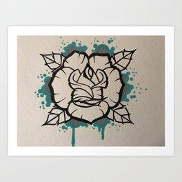 Follow you Art Print