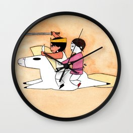 Prince Susano Wall Clock