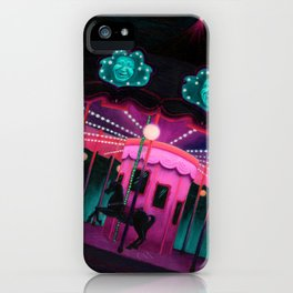 Pink and Purple Carnival iPhone Case