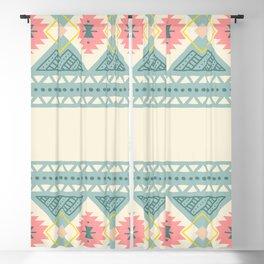 Colorful Geometric Boho Style 2 Blackout Curtain