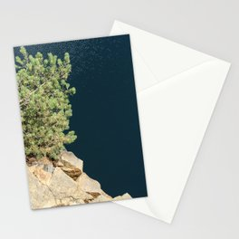Tree And Rock And Water Stationery Cards