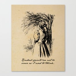 Anne of Green Gables - Kindred Spirits Canvas Print