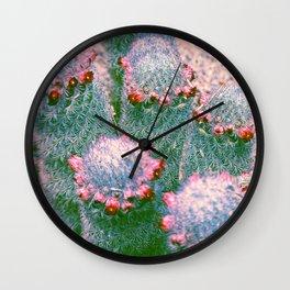 Cactus in Color Wall Clock