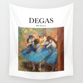Degas - Blue Dancers Wall Tapestry