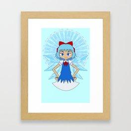 ice fairy Framed Art Print