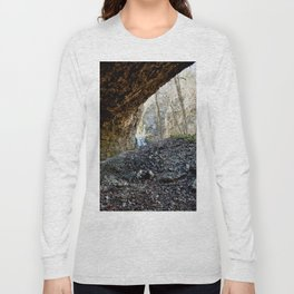 Alone in Secret Hollow with the Caves, Cascades, Critters, No. 14 of 21 Long Sleeve T-shirt