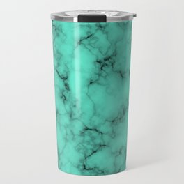 Marble Texture Abstract Travel Mug