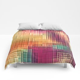 Colored Tetris Comforters