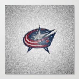 Columbus BlueJackets Logo Canvas Print