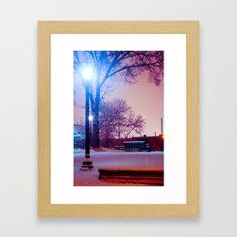 Midnight Wonderland Framed Art Print
