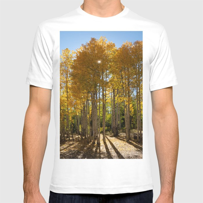 Autumn Blaze outside of Crested Butte, Colorado for #Society6 T-shirt