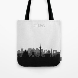 City Skylines: Tehran Tote Bag