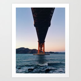 Under the Bridge Art Print