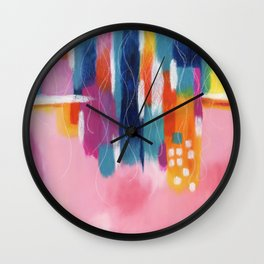 free floating Wall Clock