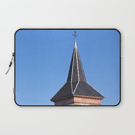 Church Tower Alsace, France Laptop Sleeve