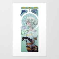 The Swallow Art Print