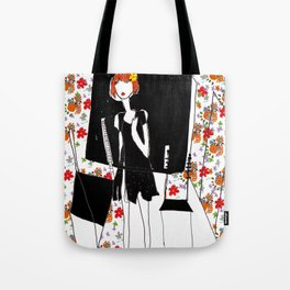 Lost in something! Tote Bag