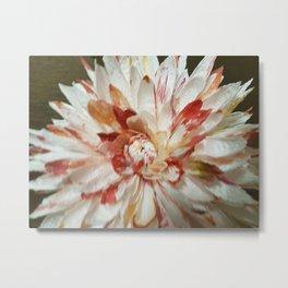 Handmade Paper Flowers Metal Print