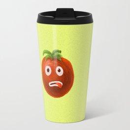 Funny Cartoon Tomato Travel Mug