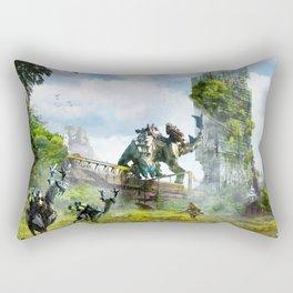 Manchester [Horizon Zero Dawn] Rectangular Pillow