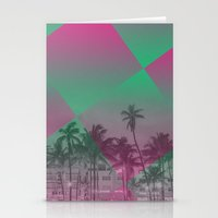 miami Stationery Cards featuring Miami by Sander Smit