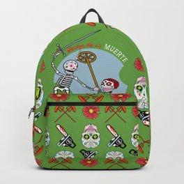 Design de la Muerte - Triumph of Death 2 (green) Backpack