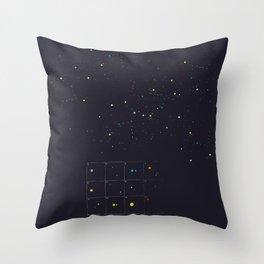 Seeking a new fiction Throw Pillow